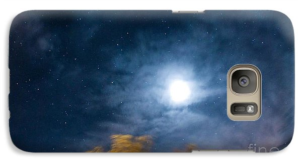 Galaxy Case featuring the photograph Golden Tree  by Angela J Wright