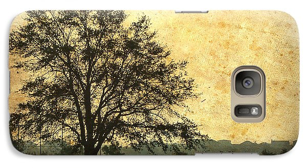 Galaxy Case featuring the photograph Golden Tree by Phil Mancuso