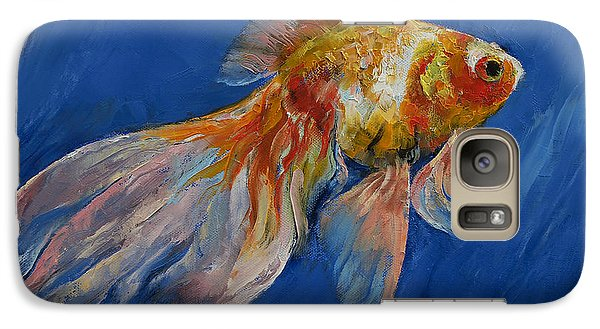 Goldfish Galaxy Case by Michael Creese