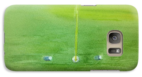 Galaxy Case featuring the painting Golf Betting by Geeta Biswas