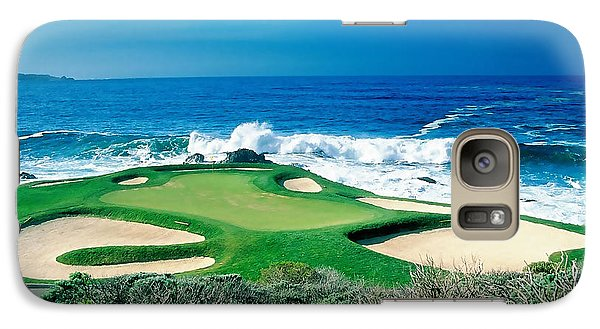 Golf Course Beauty Galaxy Case by Marvin Blaine