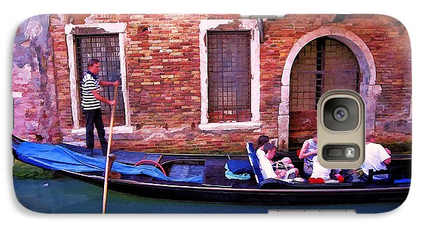 Galaxy Case featuring the photograph Gondola 4 by Allen Beatty