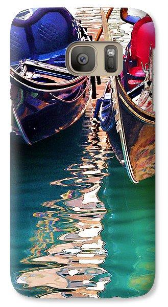 Galaxy Case featuring the digital art Gondola Love by Brian Davis