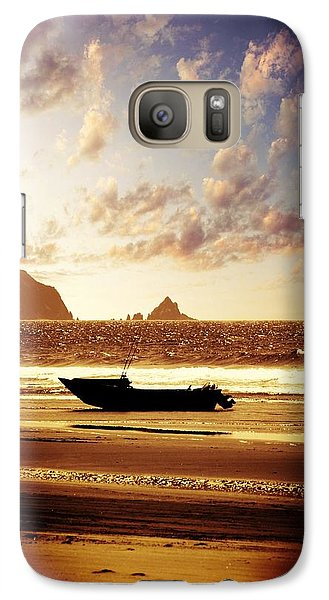 Galaxy Case featuring the photograph Gone Fishin' by Aaron Berg