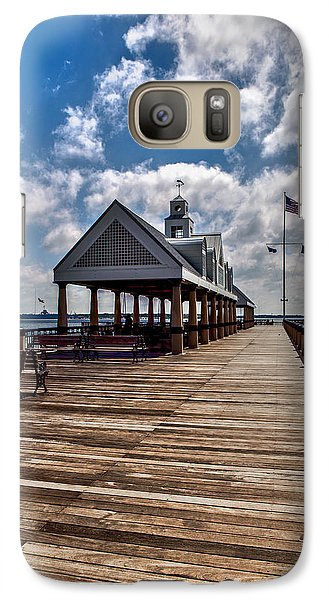 Galaxy Case featuring the photograph Gone Fishing by Sennie Pierson