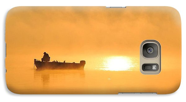 Galaxy Case featuring the photograph Gone Fishing by Terri Gostola