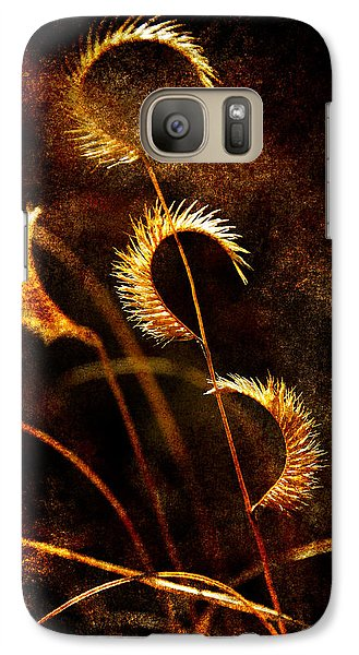 Galaxy Case featuring the photograph Gone To Seed by Karen Slagle