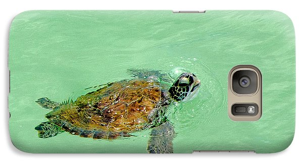Galaxy Case featuring the photograph Good Day For A Swim  by Susan  McMenamin