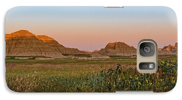Galaxy Case featuring the photograph Good Morning Badlands II by Patti Deters