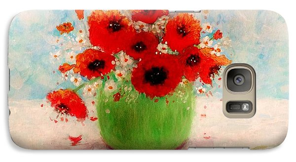 Galaxy Case featuring the painting Good Morning.. by Cristina Mihailescu