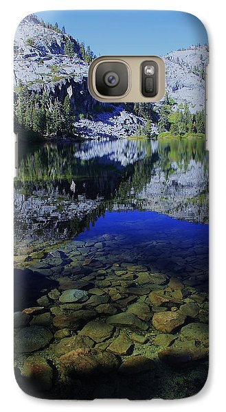 Galaxy Case featuring the photograph Good Morning Eagle Lake by Sean Sarsfield