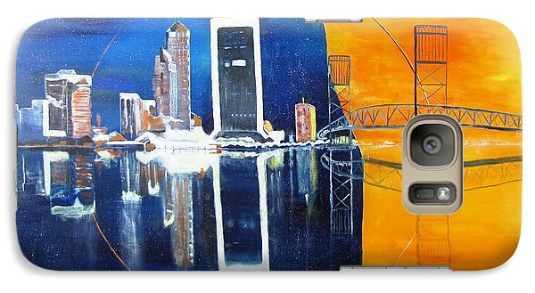 Galaxy Case featuring the painting Good Morning Jacksonville by Gary Smith