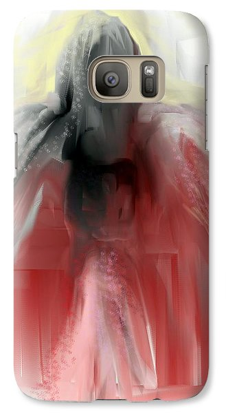 Galaxy Case featuring the painting Good Morning by Jessica Wright