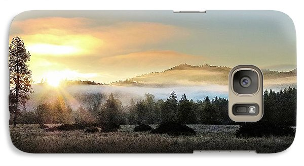 Galaxy Case featuring the photograph Good Morning by Julia Hassett
