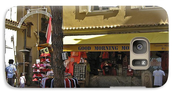 Galaxy Case featuring the photograph Good Morning Monaco by Allen Sheffield