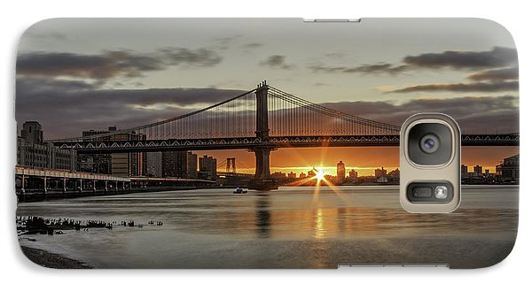 Galaxy Case featuring the photograph Good Morning Nyc  by Anthony Fields