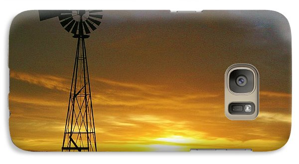 Galaxy Case featuring the photograph Good Morning by Shirley Heier