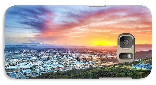 Galaxy Case featuring the photograph Good Morning Temecula by Robert  Aycock
