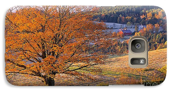 Galaxy Case featuring the photograph Good Morning Vermont by Alan L Graham