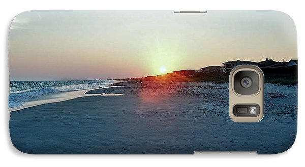 Galaxy Case featuring the photograph Good Night Day by Roberta Byram