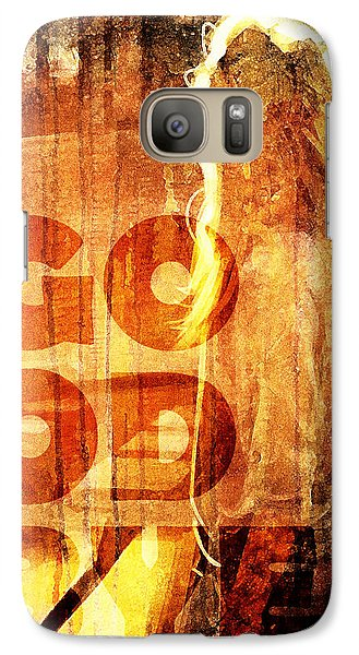 Galaxy Case featuring the digital art Goodbye Girl by Andrea Barbieri