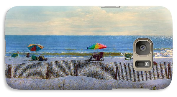 Galaxy Case featuring the photograph Goodbye Summer by John Rivera