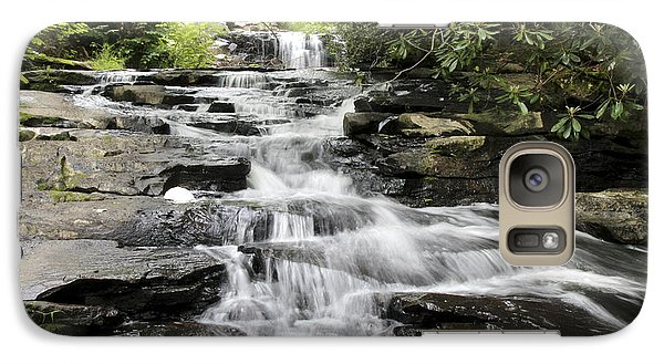 Galaxy Case featuring the photograph Goose Creek Falls by Robert Camp