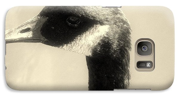 Galaxy Case featuring the photograph Goose by Karen Kersey