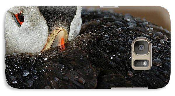 Puffin Galaxy S7 Case - Goretex by Mario Su?rez
