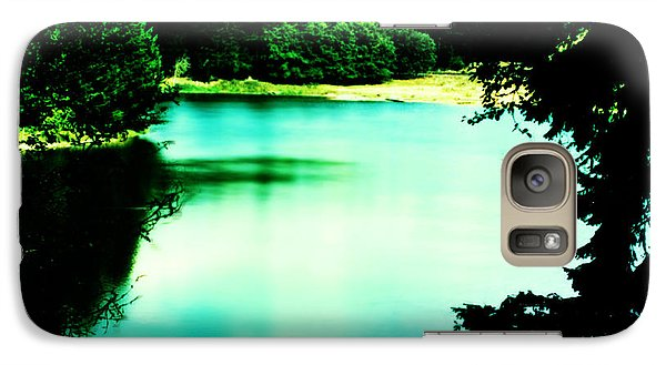 Galaxy Case featuring the photograph Gorge Waterway Victoria British Columbia by Eddie Eastwood