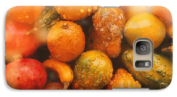 Galaxy Case featuring the photograph Gorgeous Gourds by Ira Shander