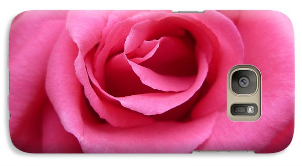 Galaxy Case featuring the photograph Gorgeous Pink Rose by Vicki Spindler