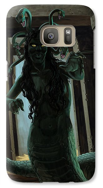 Gorgon Medusa Galaxy S7 Case by Martin Davey