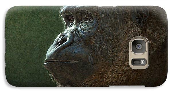 Ape Galaxy S7 Case - Gorilla by Aaron Blaise