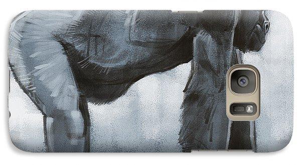 Galaxy Case featuring the digital art Gorilla Sketch by Aaron Blaise