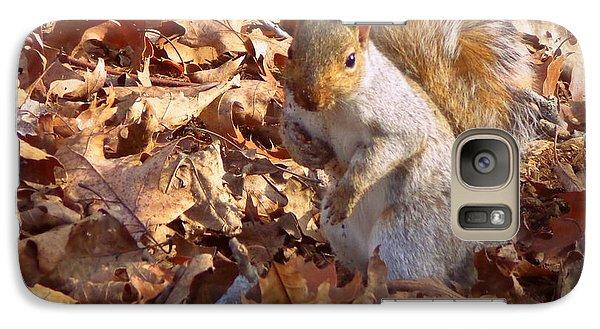 Galaxy Case featuring the photograph Got Nuts by Joseph Skompski