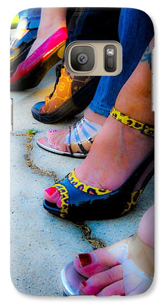 Galaxy Case featuring the photograph Got Shoes by Kristen R Kennedy