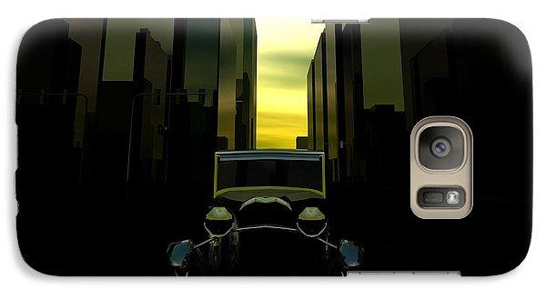Galaxy Case featuring the digital art Gotham City by John Pangia