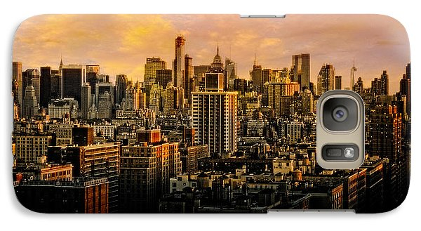 Galaxy Case featuring the photograph Gotham Sunset by Chris Lord