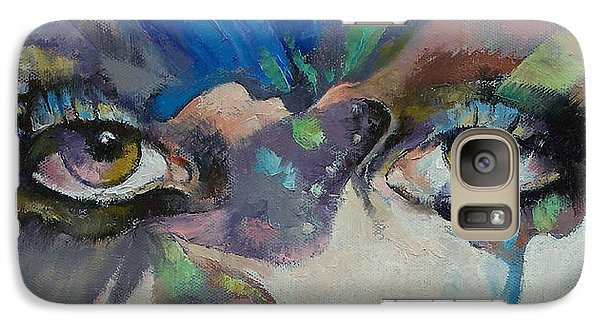 Gothic Butterflies Galaxy Case by Michael Creese
