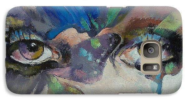 Fantasy Galaxy S7 Case - Gothic Butterflies by Michael Creese