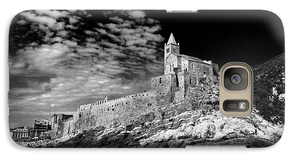 Galaxy Case featuring the photograph Gothic Church Of St. Peter Porto Venere Italy by John Hix