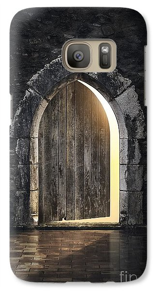 Dungeon Galaxy S7 Case - Gothic Light by Carlos Caetano