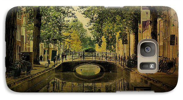 Galaxy Case featuring the photograph Gouda In Vintage Look by Annie Snel