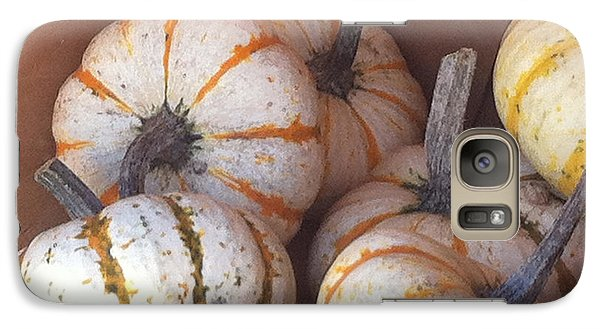 Galaxy Case featuring the photograph Gourd Harvest by Denyse Duhaime
