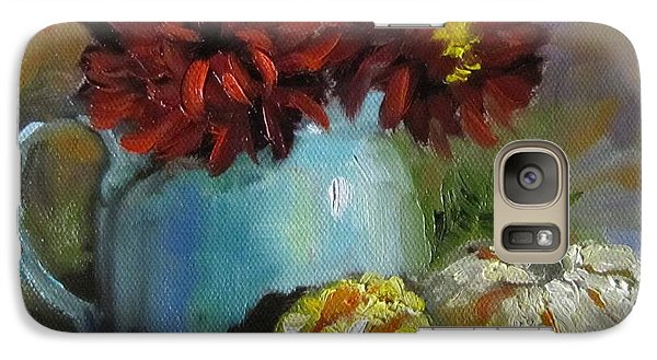 Galaxy Case featuring the painting Gourd Painting Iv by Cheri Wollenberg