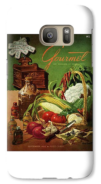 Gourmet Cover Featuring A Variety Of Vegetables Galaxy S7 Case