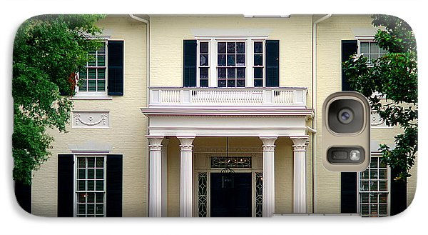 Galaxy Case featuring the photograph Va Govenors Mansion Richmond Va by Suzanne Powers