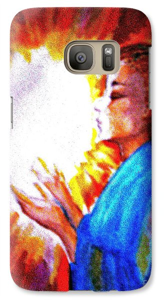 Galaxy Case featuring the painting Grace - 2 by Leanne Seymour