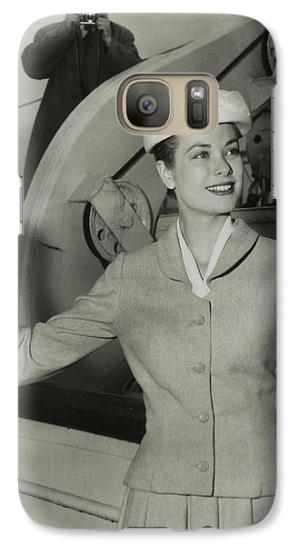 Grace Kelly In 1956 Galaxy S7 Case by Mountain Dreams
